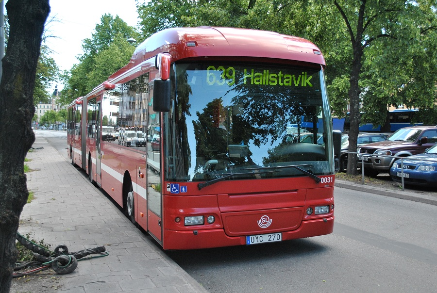 Fridströms Busstrafik (Nobina) 0031