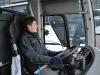 Tonnie bakom ratten på Västanhede Trafik